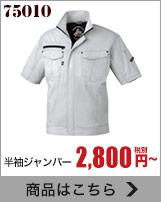 消臭・抗菌加工で暑い季節も爽やかに着られるZ-DRAGON作業着 75010