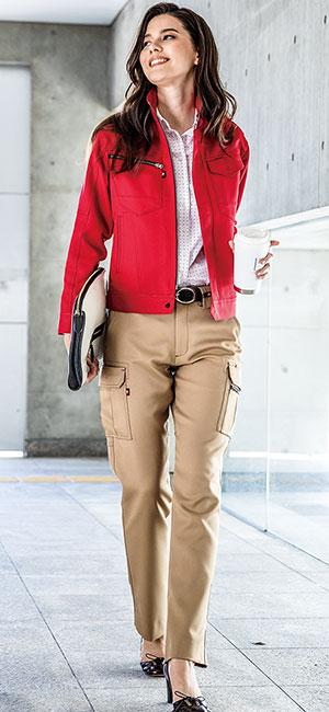 綿の弱点をカバーした究極素材。バートルのかっこいい男女兼用作業服。