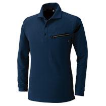 肩の刺し子模様がかっこいいポロシャツ。TS DESIGN5105