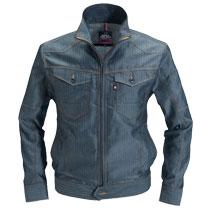 春夏用ヘリンボーン長袖ジャケット。バートル1511