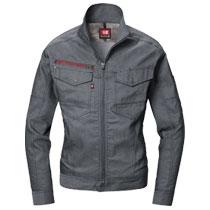 春夏用ストレッチドビー長袖ジャケット。バートル7041