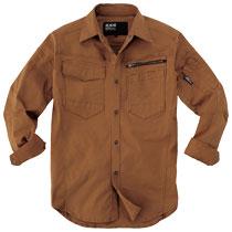 春夏向けの長袖シャツもストレッチで動きやすい。2273