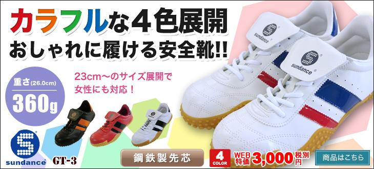 安全靴 GT-3 女性も履ける安全靴