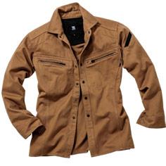 綿100%のやわらかい着心地が人気のワークシャツ。TS DESIGN(藤和)5115