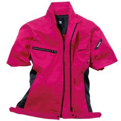 TS DESIGN(藤和)の半袖ジャケット。涼しい作業服ならやっぱり半袖。8156