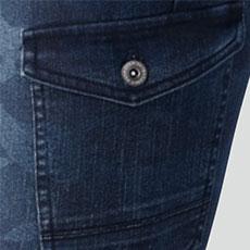 左カーゴポケット