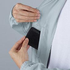 内ポケット(野帳対応サイズ)