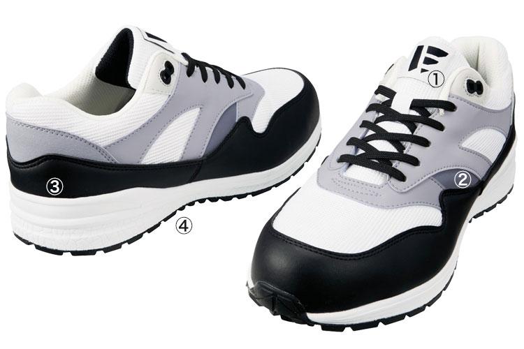 自重堂安全靴 s1181 商品詳細