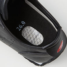 自重堂安全靴 s4172 衝撃吸収材入りインソール