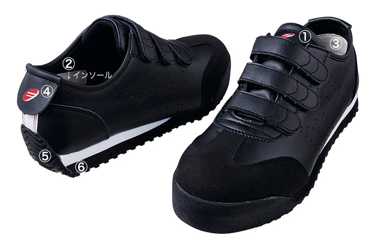 自重堂安全靴 s4172 商品詳細