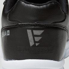 自重堂安全靴 s6172 かかと反射プリント
