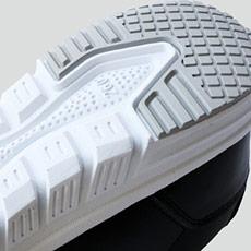 自重堂安全靴 s6172 耐滑ソール