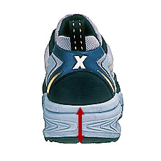 ジーベック安全靴 85109 反射パイピング、ヒールストラップ