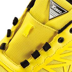 ジーベック安全靴 85134 紐が解けないひもポケ