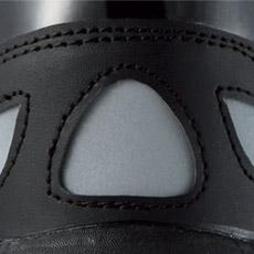 ジーベック安全靴 85405 かかとの反射材