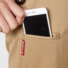 スマートフォン収納ポケット