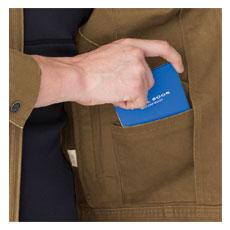 野帳(レベルブック)内ポケット(左)