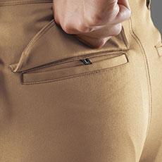 フラップ付きポケット(左・ドットボタンなし)