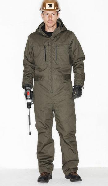 TS DESIGN(藤和) 5120 防寒オーバーオール