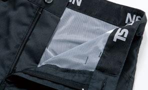 TS DESIGN 81041 レディースカーゴパンツは透け防止素材採用