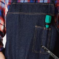 左胸ペン差しポケット付き