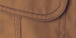 三重環縫いカラーステッチ
