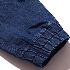 裾上げが不要のジョガータイプ
