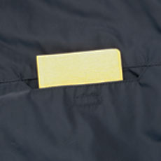 左胸収納ポケット