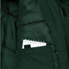 内胸パッチポケット