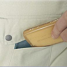 胸サブポケット