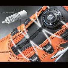 ディアドラ フィンチ ステンレス鋼ワイヤーレースは耐久性抜群