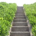 階段を用意する