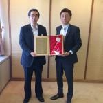 福井県知事との面会